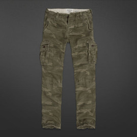 Abercrombie & Fitch - Mens A&F Cargo Pants