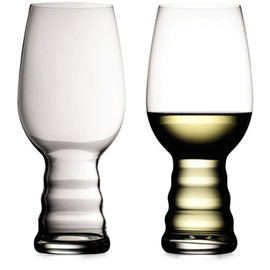 "RIEDEL - ""O"" Red And White Glasses by Georg J. Riedel"