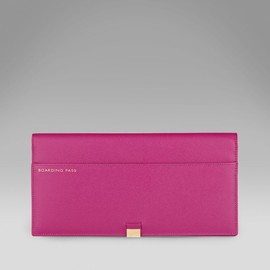 Smythson - Slim Travel Wallet with Slide