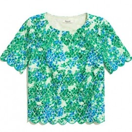 Madewell - 2013/SPRING■Madewell■painted lacebloom top