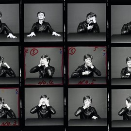 "Masayoshi Sukita, David Bowie - ""Heroes"" Contact Sheet"