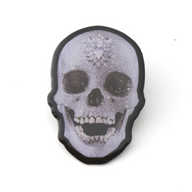 Damien Hirst - Diamond Skull Pin Badge