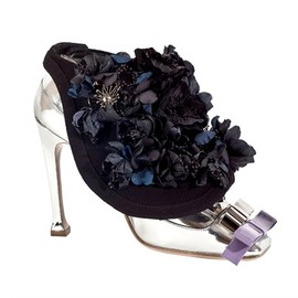miu miu - Embellished Flower Pumps