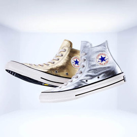 Converse - Addict Metallic Leather High Cut