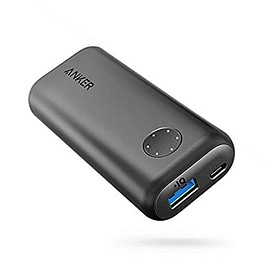 Anker - Anker PowerCore II 6700 (6700mAh コンパクト モバイルバッテリー) 【LED Wheel搭載】iPhone & Android対応 (ブラック)