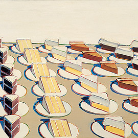 wayne thiebaud - Pie Counter 1963