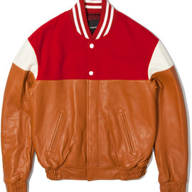 PHENOMENON - Red Mixed Jacket