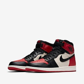 "NIKE - AIR JORDAN 1 RETRO HIGH OG ""BRED TOE"""
