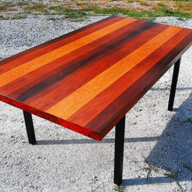 Thayer Coggin  - Milo Baughman Dining Table Rosewood
