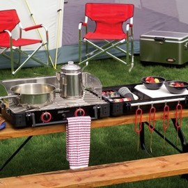 Coleman - Exponent Rendezvous 2-Burner Propane Stove