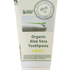Made of Organics - Tooth paste lemeon