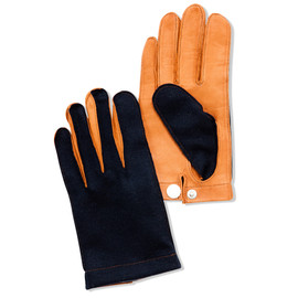 CASH CA - GLOVE/NAVY/BROWN