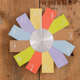 BRUNO - Card Wall Clock