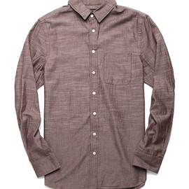 wings + horns - wings horns chambray shirt WINGS + HORNS CHAMBRAY SHIRT | RODEN GRAY SALE + PROMO CODE