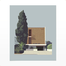 Mid-century brick on Ambrose by Chris Turnham - NA