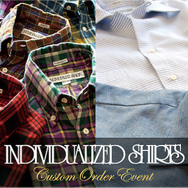 INDIVIDUALIZED SHIRTS - Custom Order