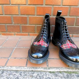 Dr.Martens - MIE ANTHONY BROGUE BOOT 14628001 Black MADE IN ENGLAND