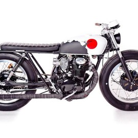 "ZEN GARAGE - ""The Brat"": 1972 Honda CB350 custom"