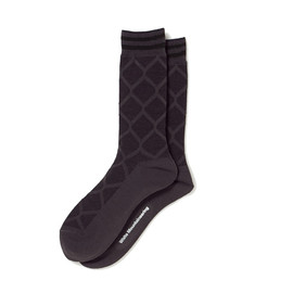 White Mountaineering - X PATTERN MIDDLE SOCKS
