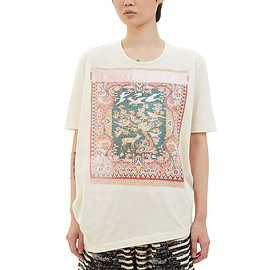 Anntian - Tapestry Print T-Shirt