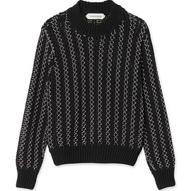 NAMACHEKO - Merdan Longsleeve Knit Sweater Black