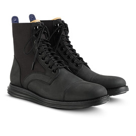 COLE HAAN, NIKE - LUNARGRAND LACE BOOTS