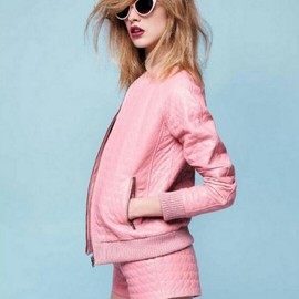 Pink style.