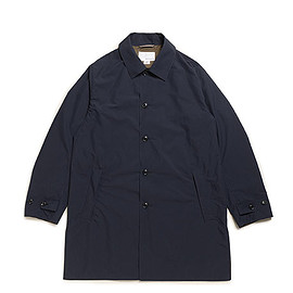 nanamica - Soutien Collar Coat-Navy