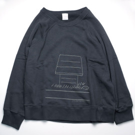 Pile Sweat Shirts (mix grey)