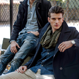 Chris Delbeck and Julian Jaring shot by photographer Nacer Paul