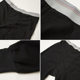 INDERA MILLS - CLASSIC LONG JOHNS DRAWERS (BLACK)