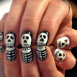 nailart - Bone