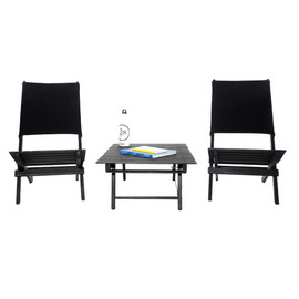Aether, Environment - Beach Folding Chairs + Table