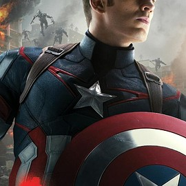 MARVEL - Avengers Age Of Ultron Captain America character poster