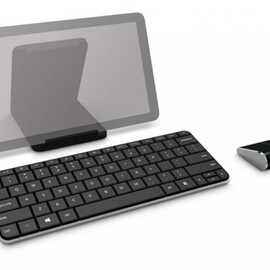 Microsoft - 5 Wedge Mobile Keyboard