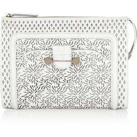 Jason Wu - Daphne laser-cut leather clutch