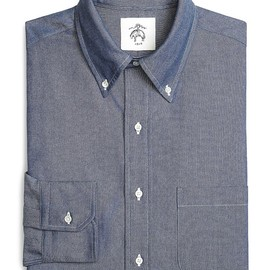 BLACK FLEECE BY Brooks Brothers - Indigo Oxford Button-Down Shirt