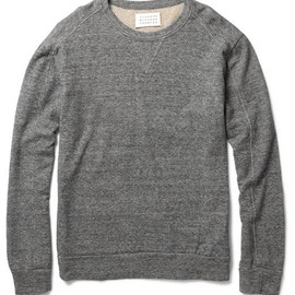 Maison Martin Margiela  - Lightweight Cotton-Blend Sweatshirt