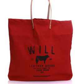 will leather goods - CLASSIC CANVAS BAG