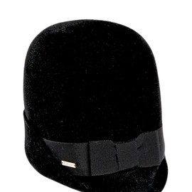DSquared2 - FW2014 LAPIN VELOUR HAT WITH GROSGRAIN BAND