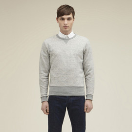 Kitsune - CREW NECK SWEATER SOLID