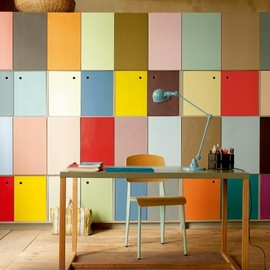Marie Claire Maison - colorful cabinets