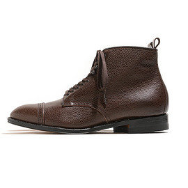 Alden - 86911H Cap Toe Boots-Dark Brown