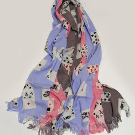 PEEL&LIFT - playing cards scarf
