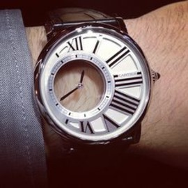 Cartier - #Cartier Rotonde awesome.