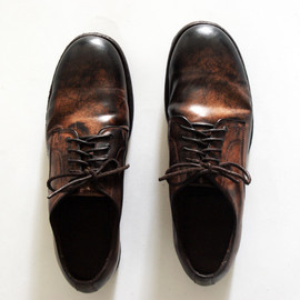 CHRISTIAN PEAU - CORDOVAN SHOES
