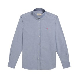 MAISON KITSUNÉ - CLASSIC SHIRT BD WITH TRICOLOR PATCH FOX