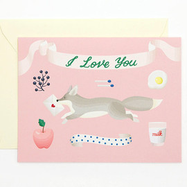 Clap Clap - I Love You Card - Fox