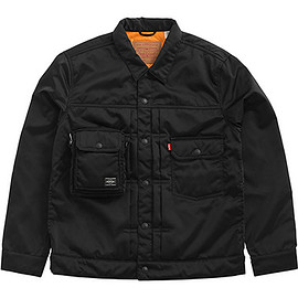 PORTER, LEVI'S - Type II Tracker Jacket - Black/Orange
