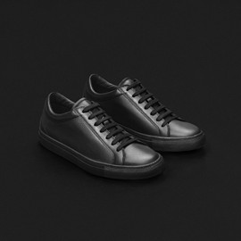 erik schedin - black leather sneaker
